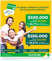 Tarjeta Cruz Verde