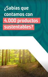 Conoce los productos sustentables