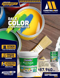 Dale color a tus proyectos