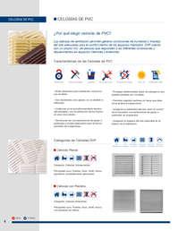 Celosías de PVC