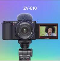 ZV-E10 es de lentes intercambiables