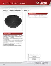 Filtro Campana Essential