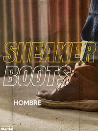 Sneaker Boots Hombre