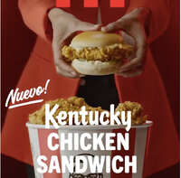 Nuevo KENTUCKY CHICKEN SANDWICH