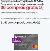 Obtén compras gratis con tu tarjeta de crédito