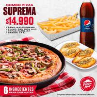 Combo Pizza Suprema