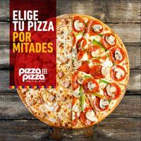 Elige tu pizza por mitades