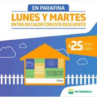 Martes es día de descuento en Petrobras