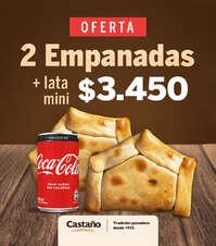 2 empanadas