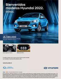 Bienvenidos modelos Hyundai 2022