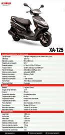 Ficha técnica XA125-1