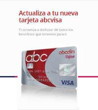Nueva tarjeta abcvisa