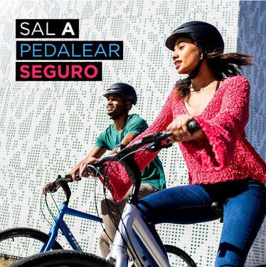 Sal a pedalear seguro- Page 1