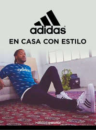 Adidas con estilo en casa