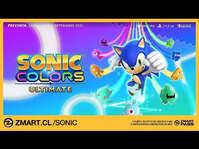 Preventa Sonic Colors Ultimate