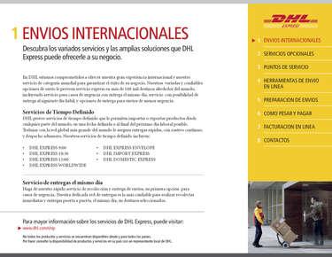 Bienvenidos a DHL- Page 1