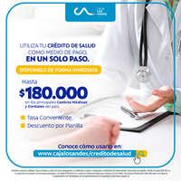 Utiliza tu crédito de salud