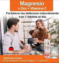 Magnesio + Zinc + Vitamina C