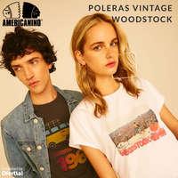 Poleras Vintage Woodstock