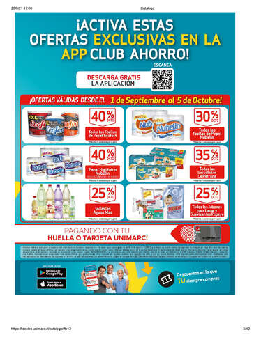 Ofertas exclusivas Unimarc- Page 1