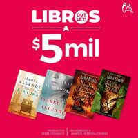 Libros a $5 mil
