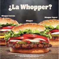 Sorpréndete con los Whopper