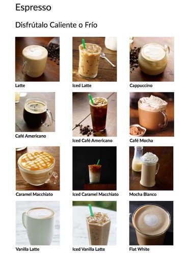 Menú Bebidas- Page 1