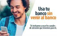 Usa tu banco sin venir al banco
