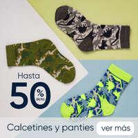 Calcetines y panties con descuento