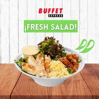 ¡Fresh salad!