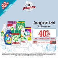 Promo detergentes