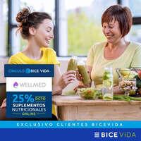 25% off en suplementos alimenticios