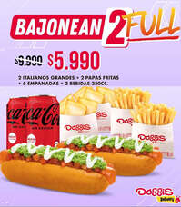 Bajonean 2 Full a $5.990.-