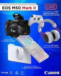 EOS 50 Mark II lo tiene todo