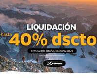 Liquidación temporada Otoño -  Invierno