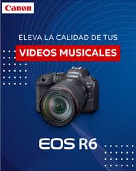 Cámara EOS R6