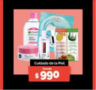 Cuidado de piel desde $990
