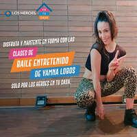 Únete a Yamna Lobos y disfruta de la clase de baile