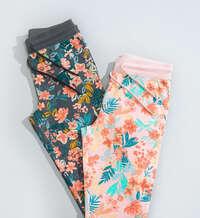 Pantalones florales