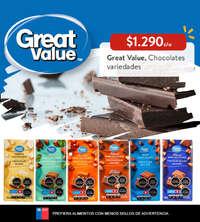 Great Value, Chocolate variedades