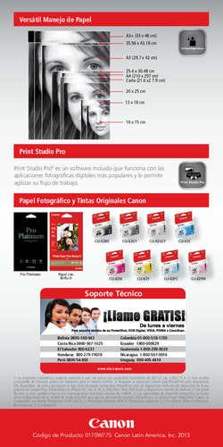 PIXMA Pro100- Page 1