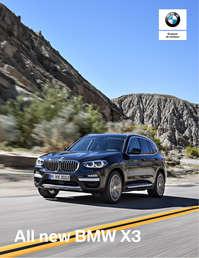 BMW X3 xDrive30i xLine (Spec 04-2018)