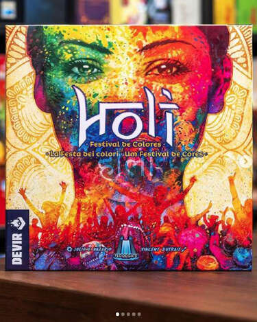 Holi - festival del color -- Page 1