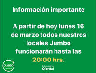 Horarios Jumbo