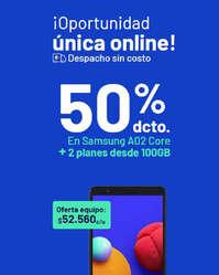 Oportunidad única con Samsung