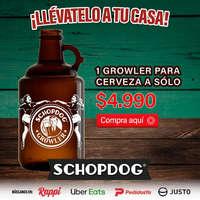 Growler para cerveza