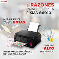 Impresora PIXMA G6010