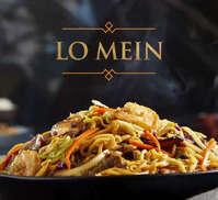 Disfruta un caliente Lo Mein