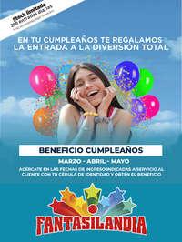 Beneficio Cumpleaños