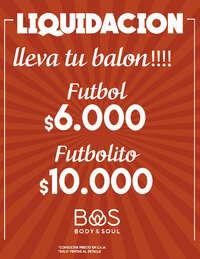 Liquidación Futbol